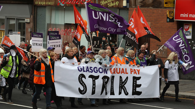 glasgow-equal-pay-strike
